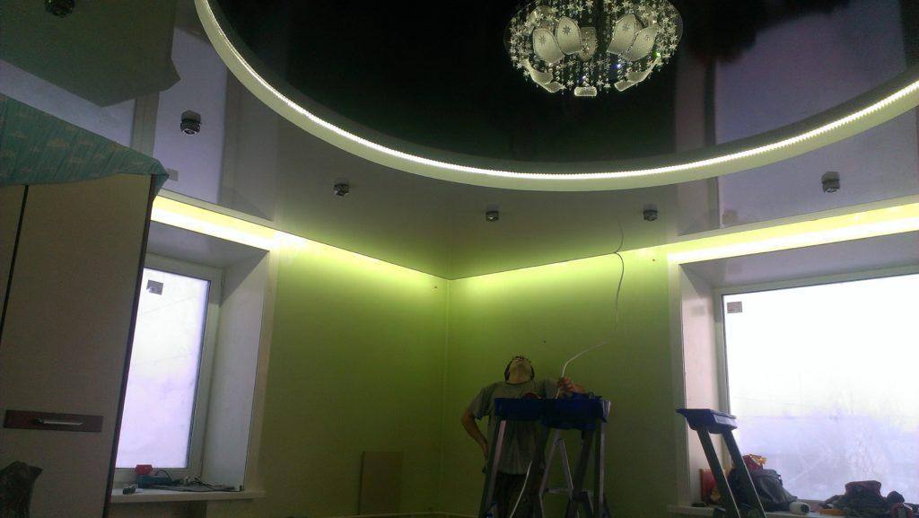 Натяжные потолки Усть-Илимск